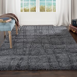 Sculptured Gray Area Rug