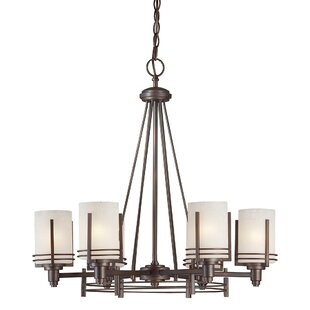 World Menagerie Sewell 6-Light Shaded Chandelier
