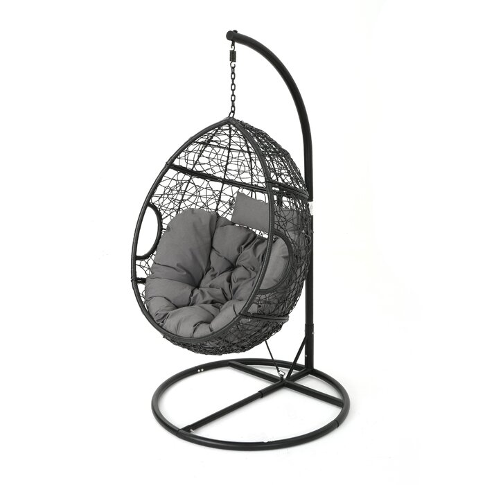 chair swing cute for space chairs spaces beautiful with contemporary stand furniture modway outdoor gamble
