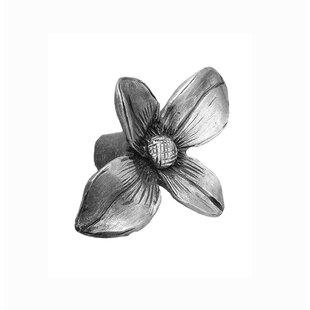 Dogwood Flower Novelty Knob