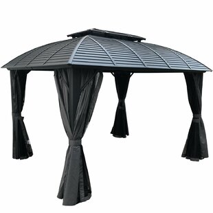 Odyssey 12 Ft. W x 10 Ft. D Aluminum Patio Gazebo by Kozyard