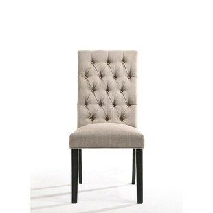 Alcott Hill Ewan Upholstered Dining Chair (Set of 2)