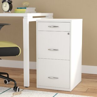 Rebrilliant Bottomley Steel 3 Drawer Filing Cabinet