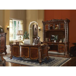 Malley Executive Desk Set With Hutch by Astoria Grand 2019 Sale