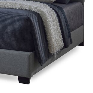 Review Chesser Upholstered Bed Frame