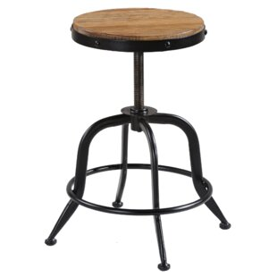 Palisades Adjustable Height Swivel Bar Stool by Reual James