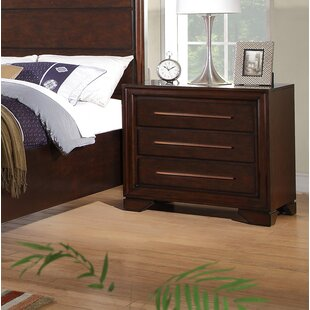 Catania 3 Drawer Nightstand