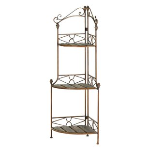 Alicia Copper Baker's Rack by August Grove