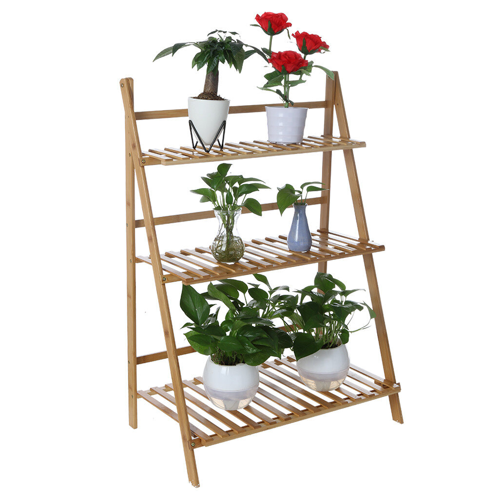 Red Barrel Studio Divia Free Form Multi Tiered Plant Stand Wayfair