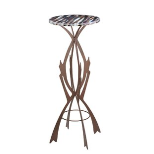 Affordable Marina Fused End Table by Meyda Tiffany
