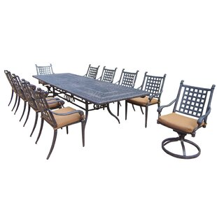 Darby Home Co Arness 14 Piece Bar Height Dining Set