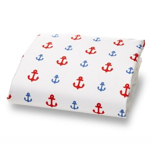 Buy luxury Little Sailor Ultra Microfiber Luxury Fitted Crib Sheet By Where the Polka Dots Roam
