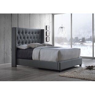 Mercer41 Ferdinand Upholstered Platform Bed