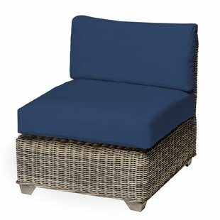 TK Classics Holly Hill Slipper Armless Chair with Cushions (Set of 2)
