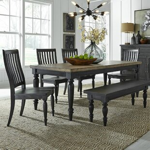 Zachariah 6 Piece Extendable Dining Set