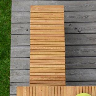 Sumatra Whitt Solid Wood Bench By JanKurtz