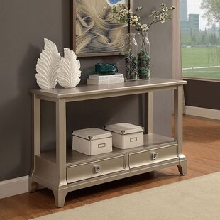 Shannon Contemporary Console Table by House of Hampton