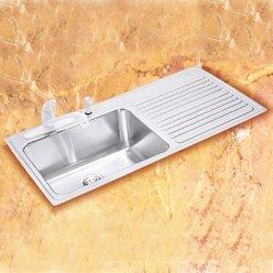 gourmet 43   x 22   drop in kitchen sink elkay gourmet 43   x 22   drop in kitchen sink  u0026 reviews   wayfair  rh   wayfair com