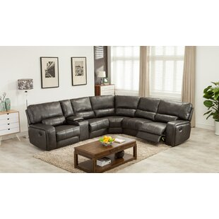 Trower Upholstered Power Reclining Sectional