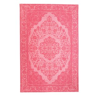 Ayon Handwoven Pink Indoor/Outdoor Rug By Latitude Vive