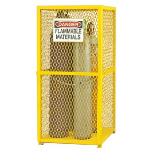 Steel and Iron Vertical Cylinder Storage Cabinet by Durham Manufacturing