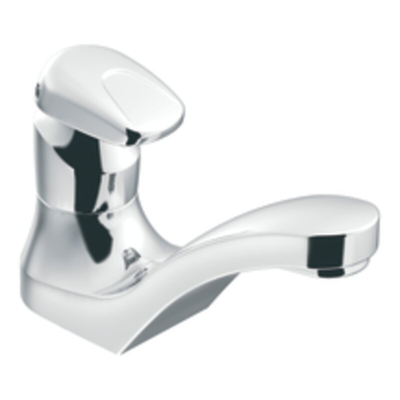 Moen M-Press Single Hole Bathroom Faucet | Wayfair