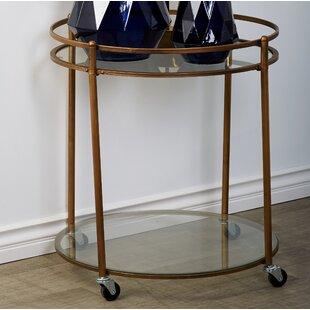 Cole & Grey Vera Bar Cart