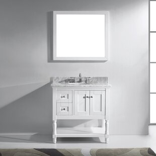 Buying Cicely 36 Single Bathroom Vanity Set with Mirror By Gracie Oaks