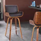 Oakham Bar & Counter Swivel Stool by George Oliver