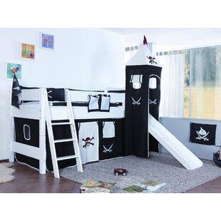 Castile Single Mid Sleeper Bed By Zoomie Kids