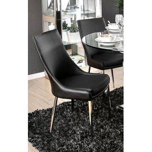 Orren Ellis Niantic Modern Upholstered Dining Chair (Set of 2)