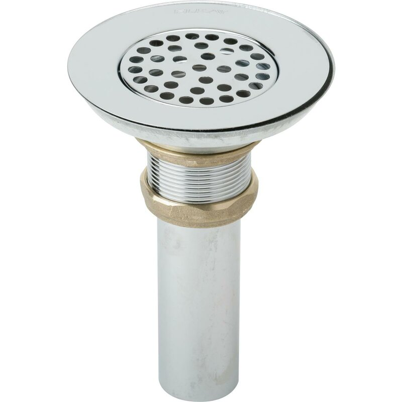 Elkay 4 63 Grid Strainer Bathroom Sink Drain Wayfair