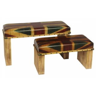 Whittlesey Union Jack 2 Piece Stool By Williston Forge