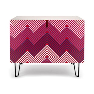 Fansler 2 Door Accent Cabinet by Bungalow Rose