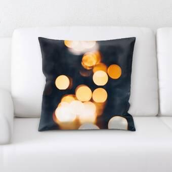 East Urban Home Blurred Out Throw Pillow Wayfair