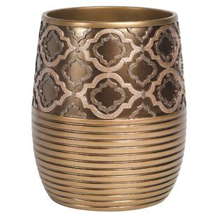 Sweet Home Collection Medallion Waste Basket