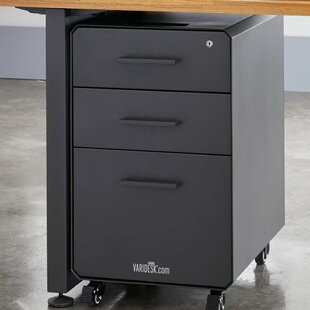 VARIDESK 3-Drawer Vertical Filing Cabinet