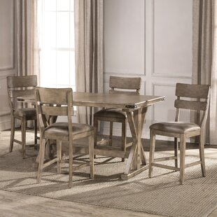 Rowtag 5 Piece Pub Table Set by Loon Peak