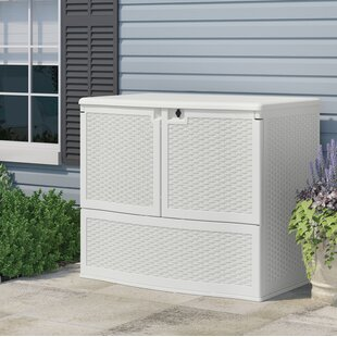Outdoor Java 4 Ft. W X 2 Ft. 7 In. D Horizontal Storage Shed By Suncast