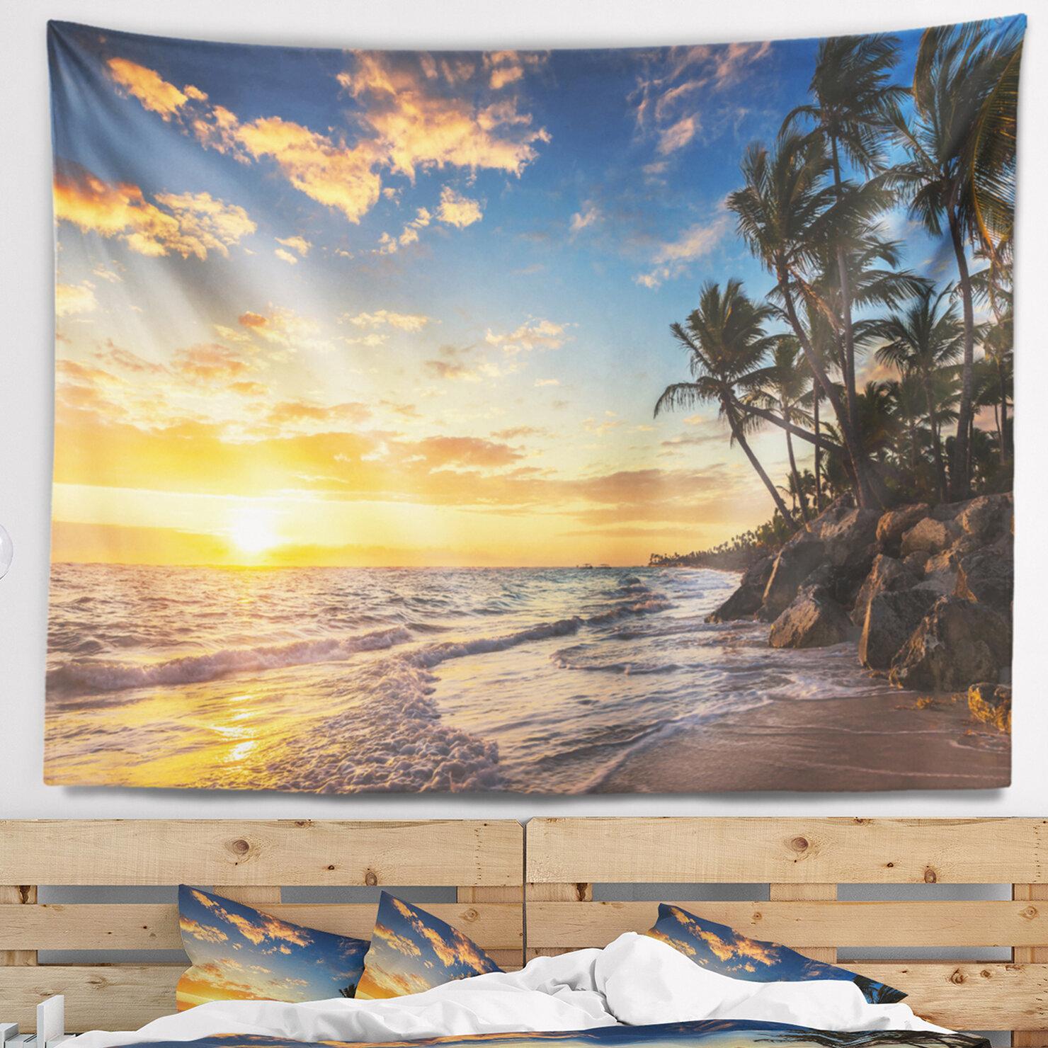 Tropical Island Paradise: East Urban Home Seascape Paradise Tropical Island Beach