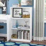Lansing 40.3 H x 24.5  W Standard Bookcase by Ebern Designs