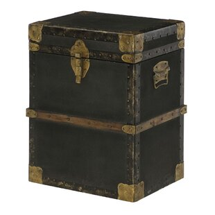 Bloomsbury Market Hassani Trunk End Table