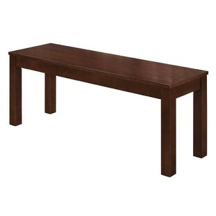 Gracie Oaks Chetna Simple Wood Dining Bench