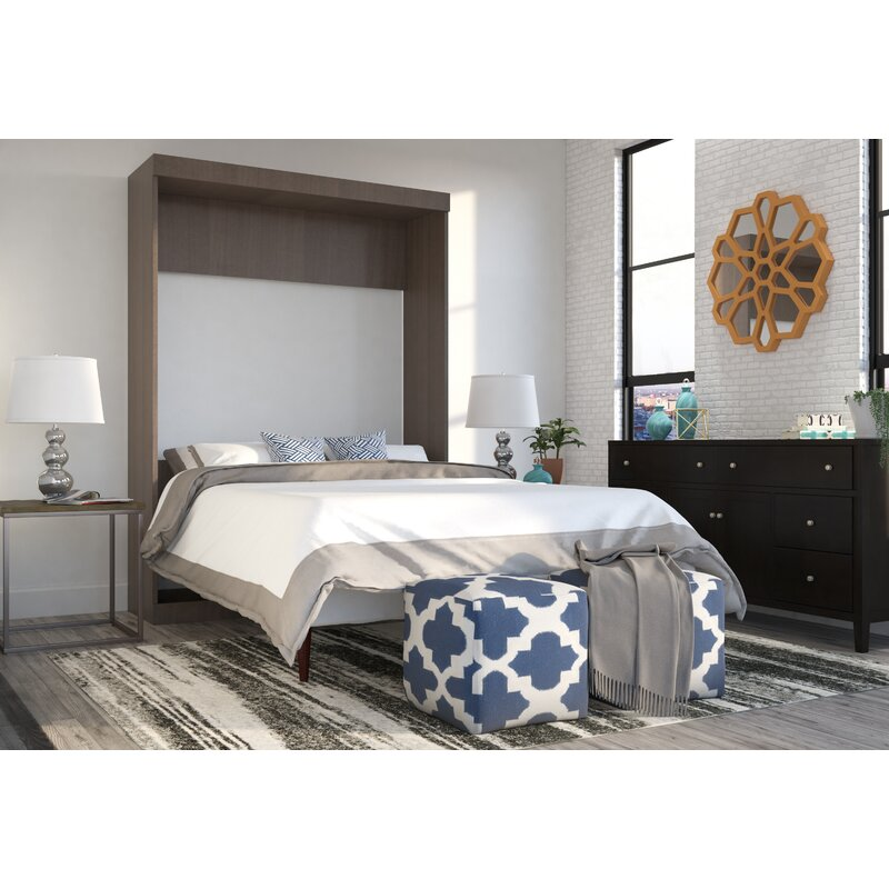 Brayden Studio Truett Murphy Bed Amp Reviews Wayfair