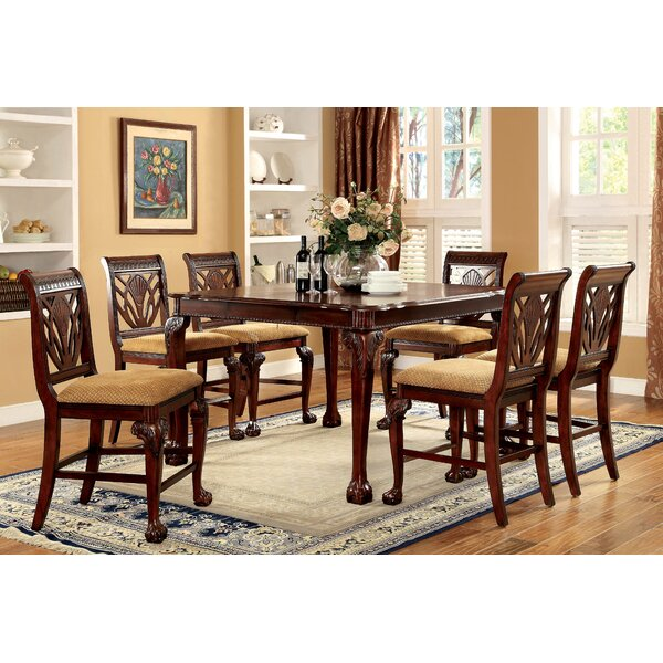 Astoria Grand Coleman 9 Piece Counter Height Pub Table Set U0026 Reviews |  Wayfair