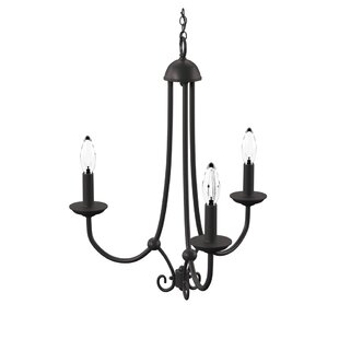 Holloway 3-Light Candle Style Chandelier