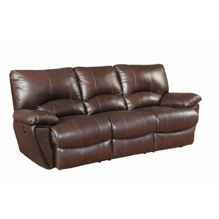 Alicea Leather Reclining Sofa ..