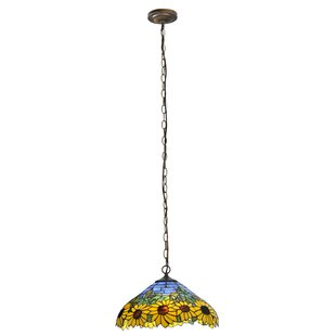 Meyda Tiffany Wild Sunflower 2-Light Pendant