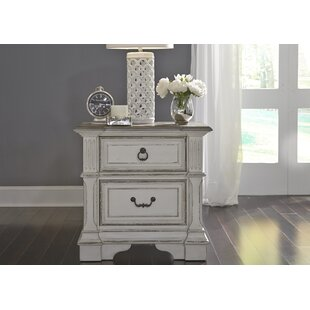 Ginyard 2 Drawer Nightstand by Ophelia & Co.