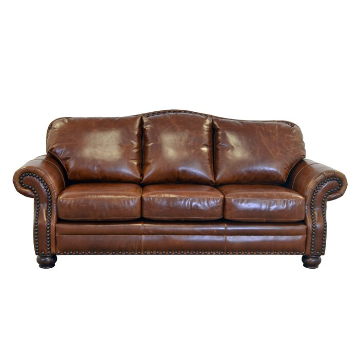 Terrific Parker Leather Sofa Ocoug Best Dining Table And Chair Ideas Images Ocougorg